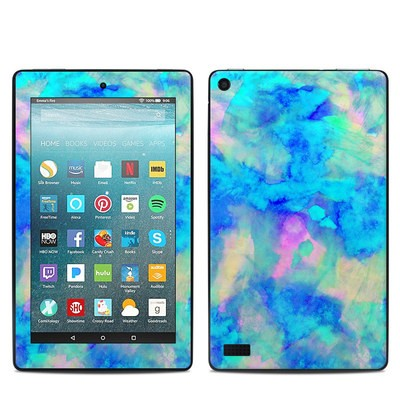 Amazon Kindle Fire 7in 7th Gen Skin - Electrify Ice Blue