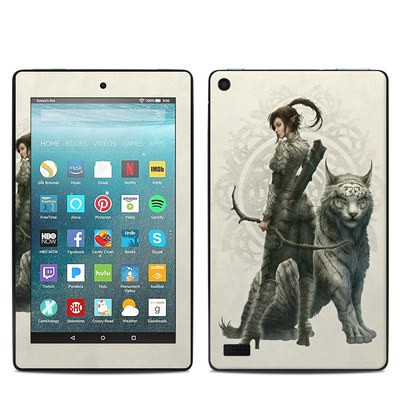 Amazon Kindle Fire 7in 7th Gen Skin - Half Elf Girl
