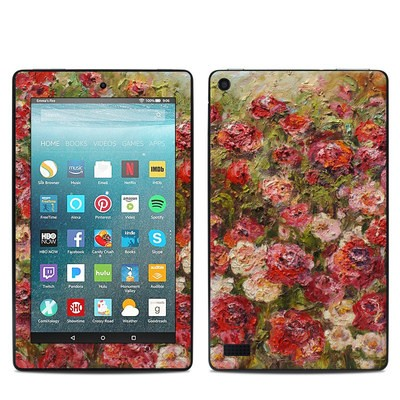 Amazon Kindle Fire 7in 7th Gen Skin - Fleurs Sauvages
