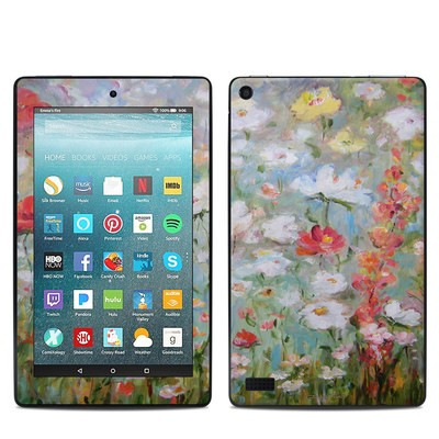 Amazon Kindle Fire 7in 7th Gen Skin - Flower Blooms