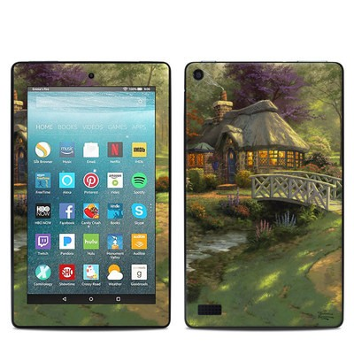 Amazon Kindle Fire 7in 7th Gen Skin - Friendship Cottage