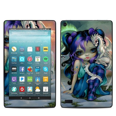 Amazon Kindle Fire 7in 7th Gen Skin - Frost Dragonling