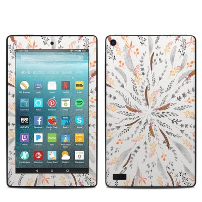 Amazon Kindle Fire 7in 7th Gen Skin - Feather Roll