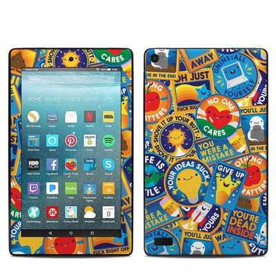 Amazon Kindle Fire 7in 7th Gen Skin - Eff Right Off