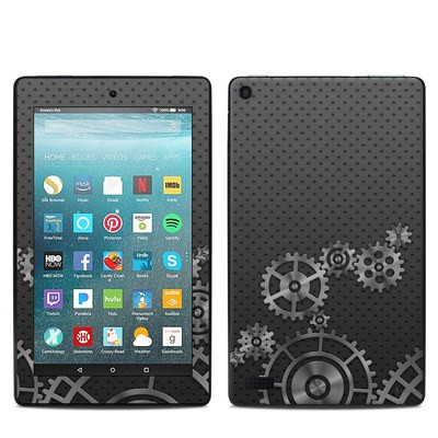Amazon Kindle Fire 7in 7th Gen Skin - Gear Wheel