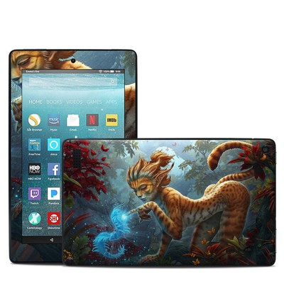 Amazon Kindle Fire 7in 7th Gen Skin - Ghost Centipede
