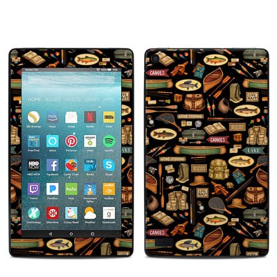 Amazon Kindle Fire 7in 7th Gen Skin - Gone Fishing