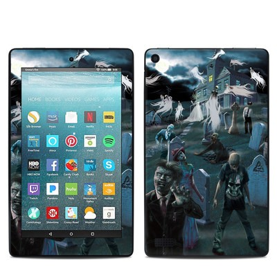 Amazon Kindle Fire 7in 7th Gen Skin - Graveyard