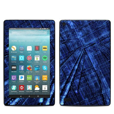 Amazon Kindle Fire 7in 7th Gen Skin - Grid