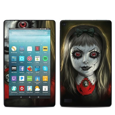 Amazon Kindle Fire 7in 7th Gen Skin - Haunted Doll