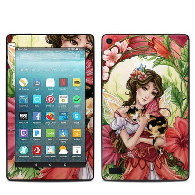 Amazon Kindle Fire 7in 7th Gen Skin - Hibiscus Fairy