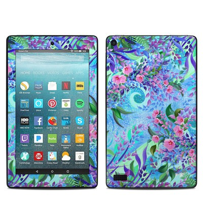 Amazon Kindle Fire 7in 7th Gen Skin - Lavender Flowers
