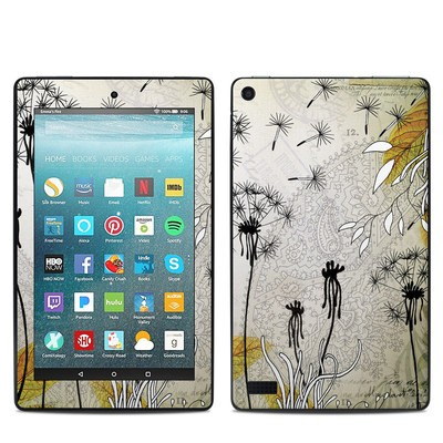 Amazon Kindle Fire 7in 7th Gen Skin - Little Dandelion
