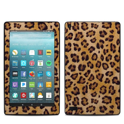Amazon Kindle Fire 7in 7th Gen Skin - Leopard Spots