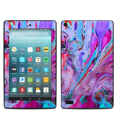 Amazon Kindle Fire 7in 7th Gen Skin - Marbled Lustre