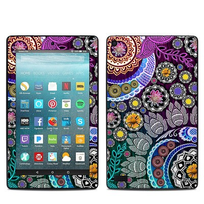 Amazon Kindle Fire 7in 7th Gen Skin - Mehndi Garden