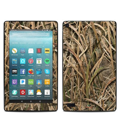 Amazon Kindle Fire 7in 7th Gen Skin - Shadow Grass Blades