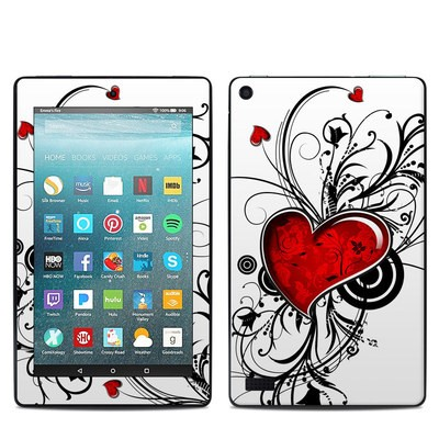 Amazon Kindle Fire 7in 7th Gen Skin - My Heart