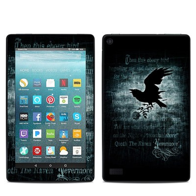 Amazon Kindle Fire 7in 7th Gen Skin - Nevermore