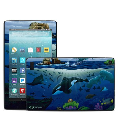 Amazon Kindle Fire 7in 7th Gen Skin - Oceans For Youth