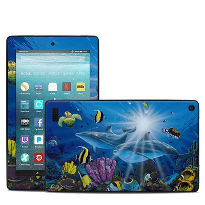 Amazon Kindle Fire 7in 7th Gen Skin - Ocean Friends