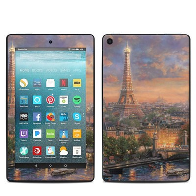 Amazon Kindle Fire 7in 7th Gen Skin - Paris City of Love