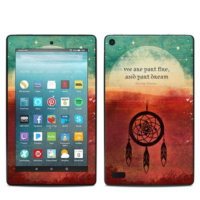 Amazon Kindle Fire 7in 7th Gen Skin - Part Fire