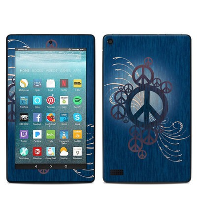 Amazon Kindle Fire 7in 7th Gen Skin - Peace Out
