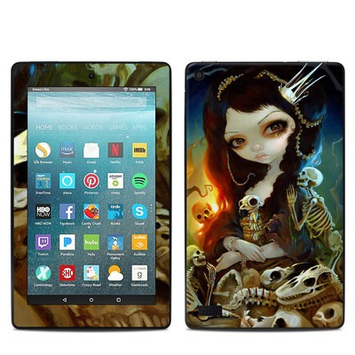 Amazon Kindle Fire 7in 7th Gen Skin - Princess of Bones