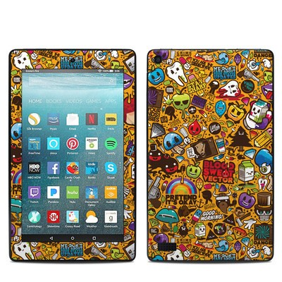 Amazon Kindle Fire 7in 7th Gen Skin - Psychedelic