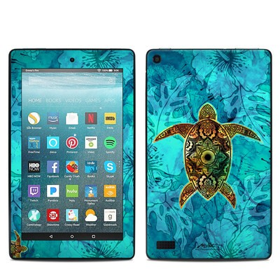 Amazon Kindle Fire 7in 7th Gen Skin - Sacred Honu
