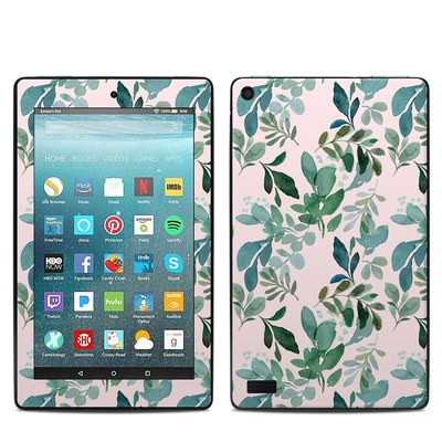 Amazon Kindle Fire 7in 7th Gen Skin - Sage Greenery