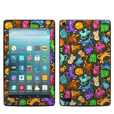 Amazon Kindle Fire 7in 7th Gen Skin - Sew Catty