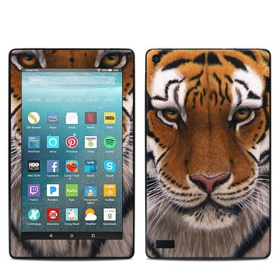 Amazon Kindle Fire 7in 7th Gen Skin - Siberian Tiger