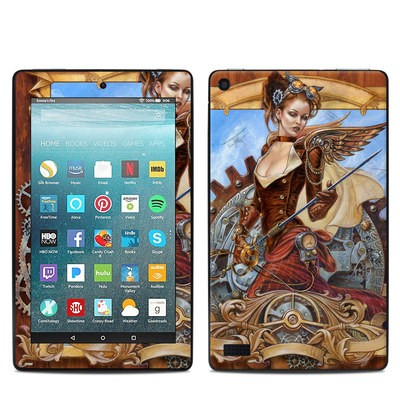 Amazon Kindle Fire 7in 7th Gen Skin - Steam Jenny