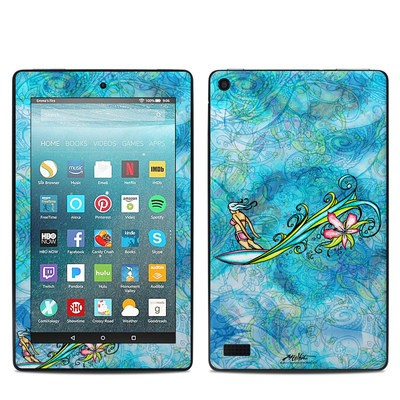 Amazon Kindle Fire 7in 7th Gen Skin - Soul Flow