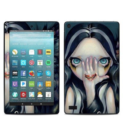Amazon Kindle Fire 7in 7th Gen Skin - Speak No Evil