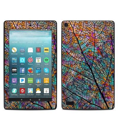 Amazon Kindle Fire 7in 7th Gen Skin - Stained Aspen