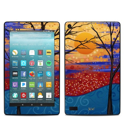 Amazon Kindle Fire 7in 7th Gen Skin - Sunset Moon