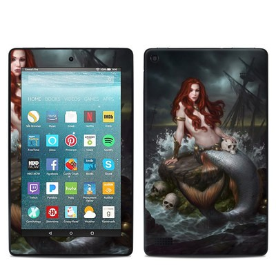 Amazon Kindle Fire 7in 7th Gen Skin - Ocean's Temptress