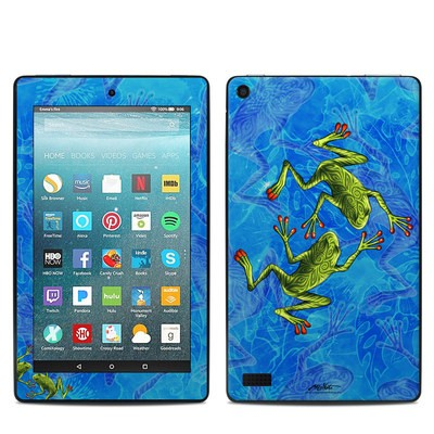 Amazon Kindle Fire 7in 7th Gen Skin - Tiger Frogs