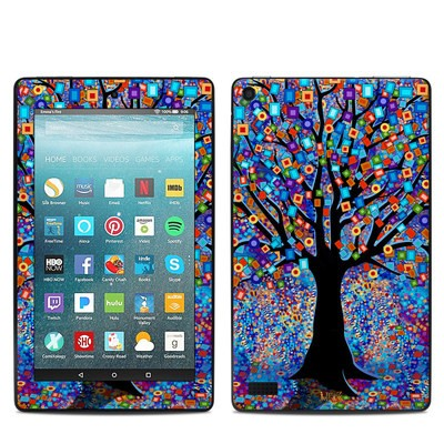 Amazon Kindle Fire 7in 7th Gen Skin - Tree Carnival