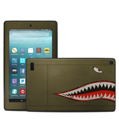 Amazon Kindle Fire 7in 7th Gen Skin - USAF Shark
