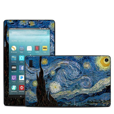 Amazon Kindle Fire 7in 7th Gen Skin - Starry Night