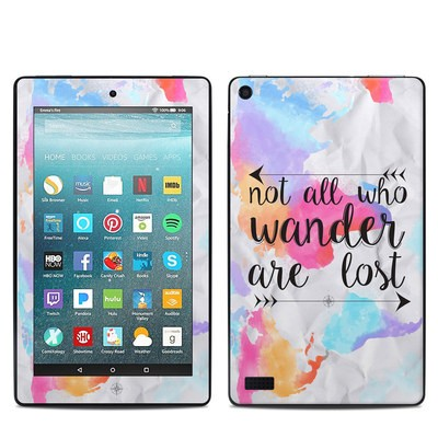 Amazon Kindle Fire 7in 7th Gen Skin - Wander