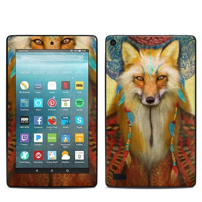 Amazon Kindle Fire 7in 7th Gen Skin - Wise Fox