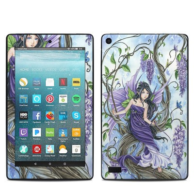 Amazon Kindle Fire 7in 7th Gen Skin - Wisteria