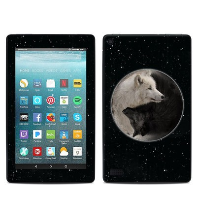 Amazon Kindle Fire 7in 7th Gen Skin - Wolf Zen
