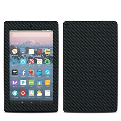 Amazon Kindle Fire 7in 9th Gen Skin - Carbon
