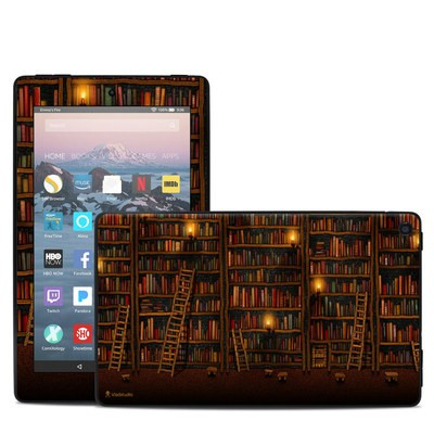 Amazon Kindle Fire 7in 9th Gen Skin - Library